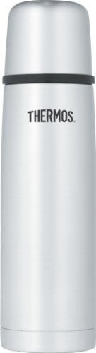Thermos Vacuum Insulated 16 Ounce Compact Stainless Steel Beverage Bottle front-964501