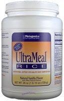 Metagenics UltraMeal RICE Vanilla 26oz (728g)1lb 10oz