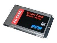 SCM Microsystems SCR-243 SCR243 - SMART CARD READER - PC CARD