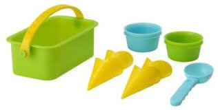 Sandig 10 Piece Sand Toy Ice Cream Set