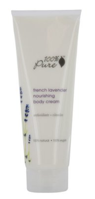 100% Pure Organic Moisturizing Body Lotion, Lavender