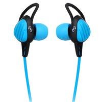 Pyle Pwp15B Waterproof Aqua Sport Headphones, Black/Blue