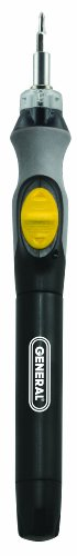 General Tools 502 Cordless Lighted Power Precision Screwdriver (Commercial Screwdrivers compare prices)
