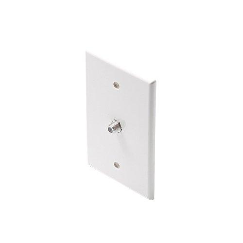 Steren - Tv Midsize Plate White W/Coupler