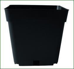 TEKU Topf, viereckig, stabil, 13 x 13 x 13 cm, 1,55 L