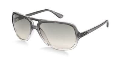 e08475dc28 Best Ray Ban Rb 4162 Grey Crystal 818/32 Designer Aviator Sunglasses ...