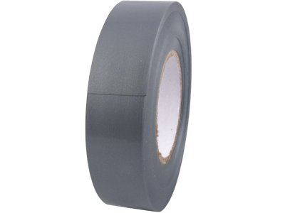 """Secure Cable Ties Et-75066St-Gy Pvc Standard Electrical Tape, -18 To 105 Degree C, 66' Length, 3/4"""" Width, Gray"""