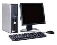 Dell Optiplex GX520 Desktop - LCD Monitor