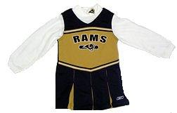 St. Louis Rams Kids Cheerleader Outfit - Buy St. Louis Rams Kids Cheerleader Outfit - Purchase St. Louis Rams Kids Cheerleader Outfit (Reebok, Reebok Dresses, Reebok Girls Dresses, Apparel, Departments, Kids & Baby, Girls, Dresses, Girls Dresses, Jumpers, Girls Jumpers, Jumper Dresses, Girls Jumper Dresses)