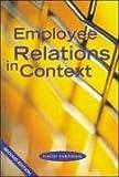 David Farnham Employee Relations in Context