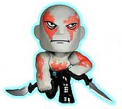 "Drax Glow-in-Dark: ~2.3"" Funko Mystery Minis x Guardians of the Galaxy Vinyl Mini-Bobble Head Figure Series - 1"