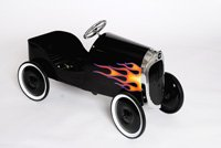 34 Classic Hot Rod - Black Pedal Car