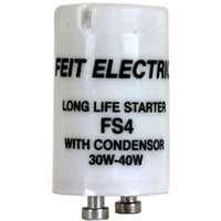 Feit Electric FS4/10 Fluorescent Starter W/Condenser