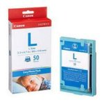 Canon E-L50 Easy Photo Pack L Size (89x 119mm (50 Sheets) (1248B001)