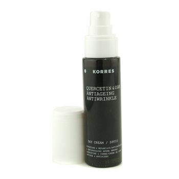 Korres Quercetin & Oak Anti-Aging & Anti-Wrinkle Day Cream SPF 10 (For Normal to Combination Skin) - 50ml/1.69oz