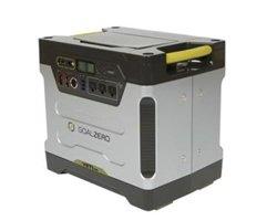 Goal Zero Yeti 1250 Solar Generator W/ Roll Cart
