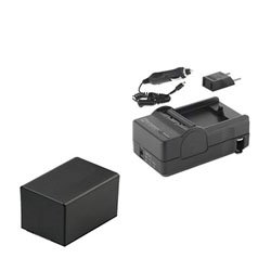 Canon VIXIA HF R30 Camcorder Battery Lithium Ion (2800 mAh 3.6v) With Charger - Replacement For Canon BP-727 Battery & Charger