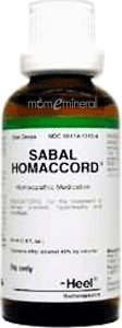 Sabal Homaccord 50 ml by Heel/BHI