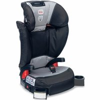 Britax Parkway Sgl Belt Positioning Booster Seat - Phantom With Matching Britax Travel Bag