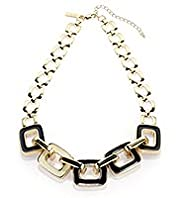 Autograph Interlock Geometric Necklace