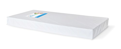Foundations Worldwide Infapure Full Crib Mattress, Foam, White, 4 ""