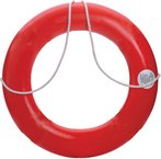 DOCK EDGE LIFE RING BUOY 20 ORANGE US Hard Shell Prevents Ripping & Virtually... by Dock Edge