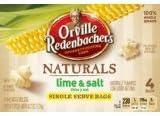 Orville Redenbacher39s Naturals Gourment Popping Corn Lime amp Salt Single Serve Bags Pack of 2