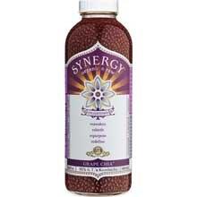 GTs Enlightened Synergy Organic and Raw Kombucha Grape Chia, 16 Ounce — 12 per case.