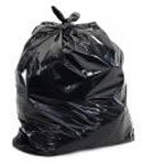 Black Garbage (Trash) Bags for Heavy Industrial Use, 55 Gallon XXXHeavy, Black 100/case