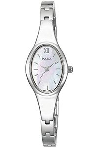 Pulsar Mother Of Pearl Ladies Bracelet Watch - PC3217X1