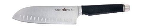 De Buyer 4281.17 'FK2' Couteau Santoku - Manche avec Contrepoids - L. 17 cm