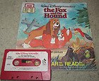 Walt Disney Productions' The Fox and the Hound - Book and Cassette