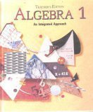 img - for Algebra 1 : An Integrated Approach, Teacher Edition book / textbook / text book