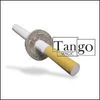 Cigarette Thru Quarter (2 sided) by Tango