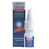 Otrivine Nasal Spray Sinusitis 10ml