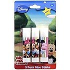 Disney Mickey Mouse Clubhouse Glue Sticks 3 pack