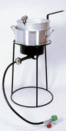 King Kooker 22PKPT 20-Inch Propane Outdoor Cooker with 9-Quart Aluminum Fry Pan (King Kooker Propane Hose compare prices)