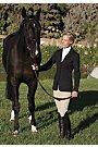 Romfh Hunt Coat - Ladies - Size:08 Color:Black by ERS