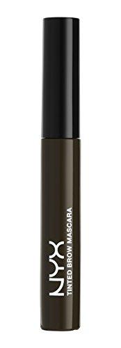 NYX Tinted Brow Mascara, Black, 6.2g