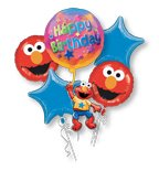 Elmo Birthday Balloon Bouquet