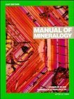 img - for By Cornelius Klein Manual of Mineralogy (after James D. Dana) (21th Edition) book / textbook / text book