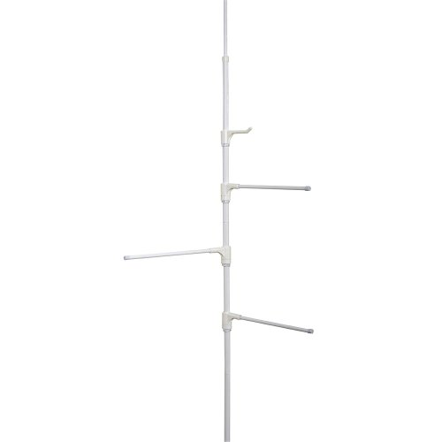 Zenith Products Pole Caddy, White
