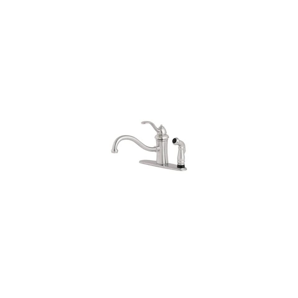 PRICE PFISTER MARIELLE STAINLESS KITCHEN FAUCET