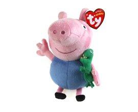 TY Beanie Babies Peppa Pig George