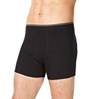 3 Pack Cool & Fresh™ Pure Cotton Assorted Trunks with StayNEW™