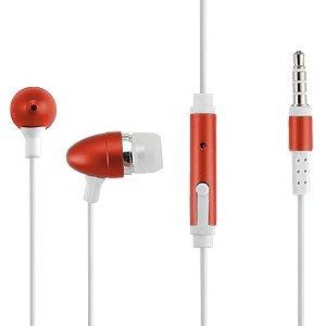 Orange Universal Headset / Headphone 3.5Mm Jack For Asus: Transformer T100, Google Nexus 7