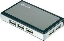 CONRAD 6 PORT USB 2.0 HUB MIT LADEKABEL