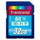Transcend Information 32 GB Wi-Fi SDHC Class 10 Memory Card (TS32GWSDHC10)