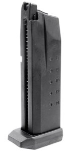 Smith & Wesson Sigma 40F Blow Back Gas Powered Airsoft Magazine - 25 Rounds - Black