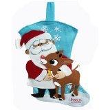 Rudolf the Red-Nosed Reindeer Felt Stocking by Kurt Adler